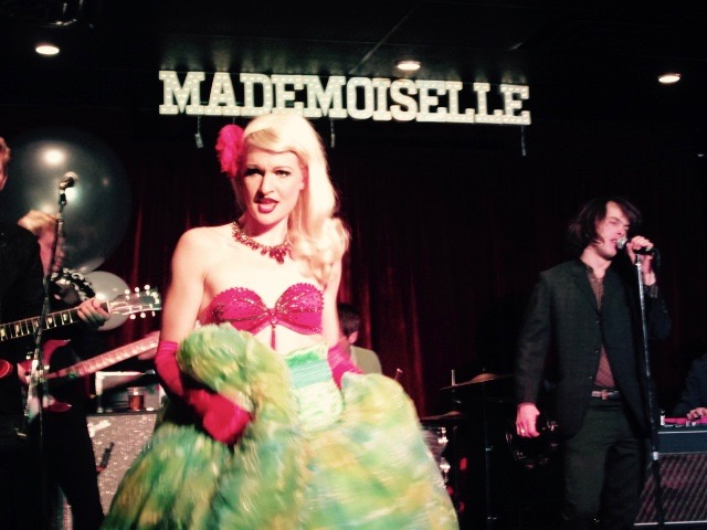 Mademoiselle Opening. Mile End. Photo Rachel Levine