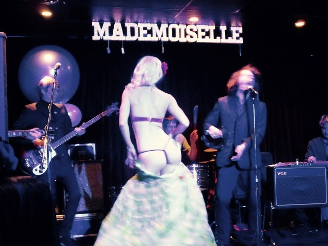 The Lady Josephine and The Continentals. Madmoiselle Opening. Mile End. Photo Rachel Levine