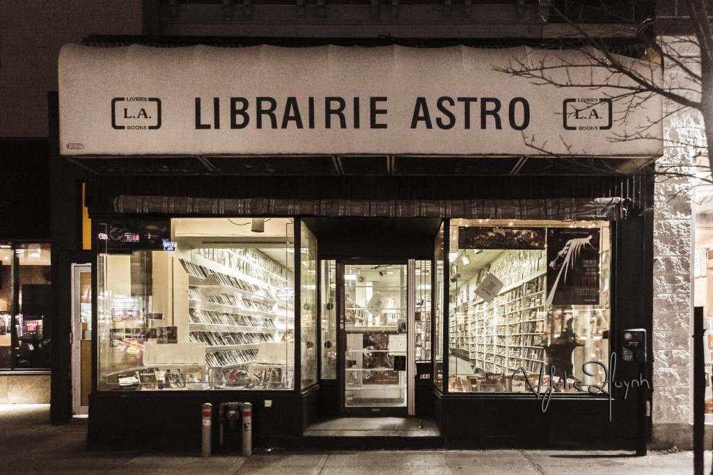 Astro Bookstore. Photo Lily Huynh