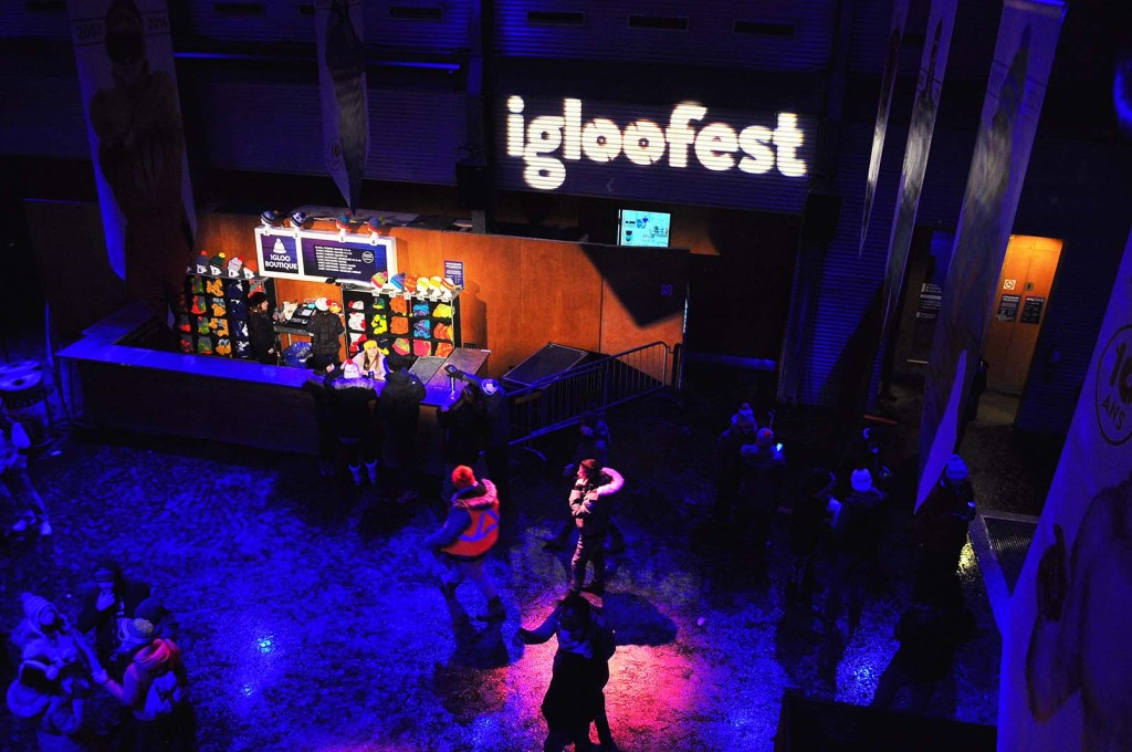 Igloofest. January 16 2016. Photo Sebastian Mora.