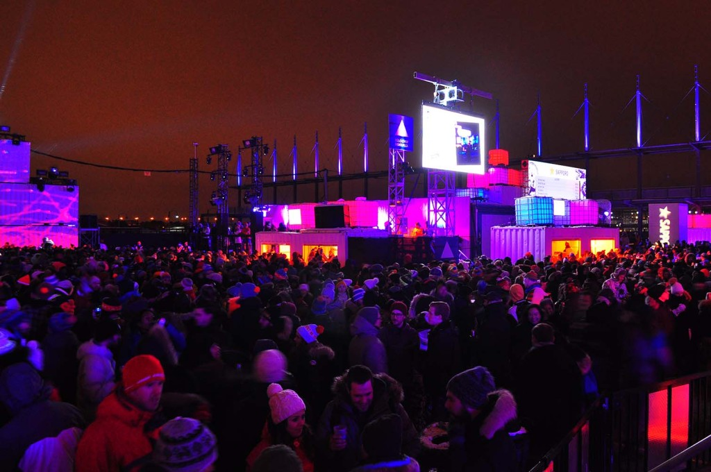 Igloofest. January 16. 2016. Photo Sebastian Mora.