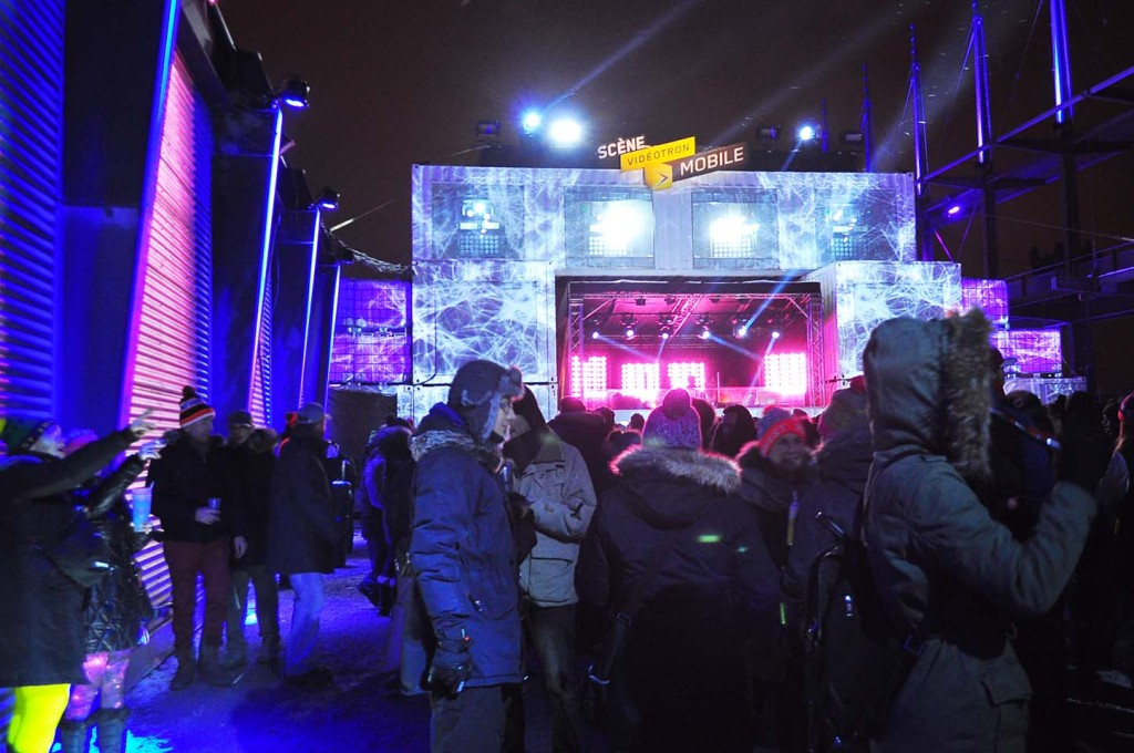 Igloofest. January 15. 2016. Photo Sebastian Mora.