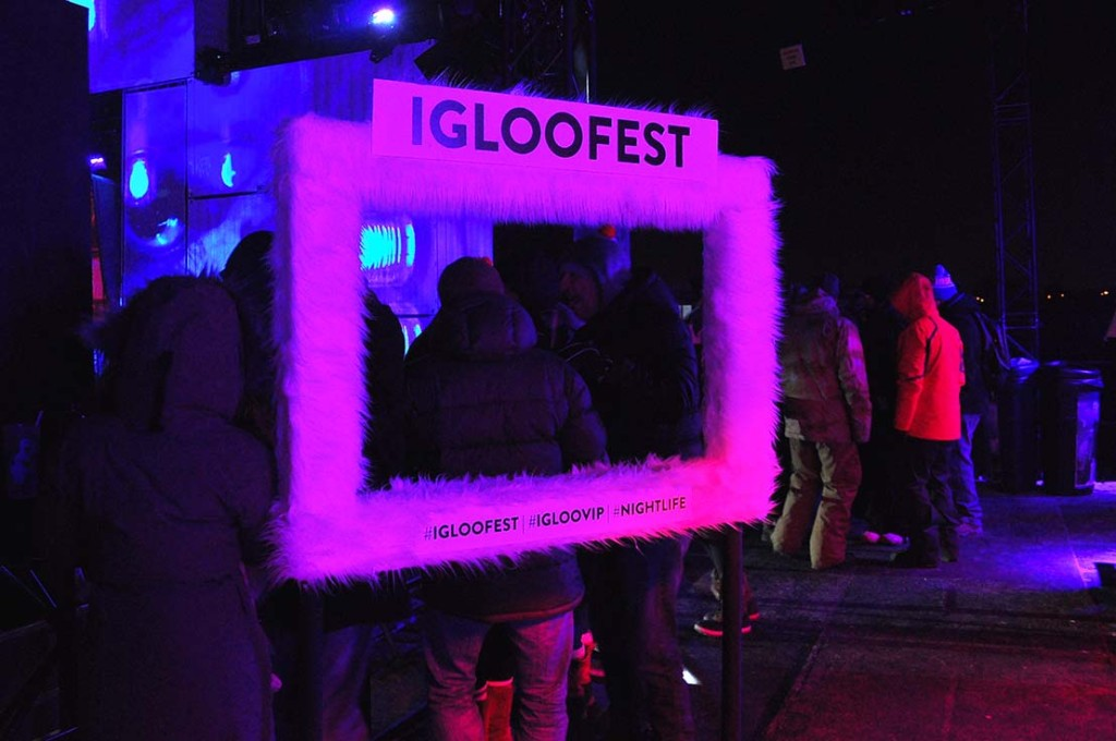 Igloofest January 23. 2016. Old Port. Montreal. Photo Sebastian Mora.