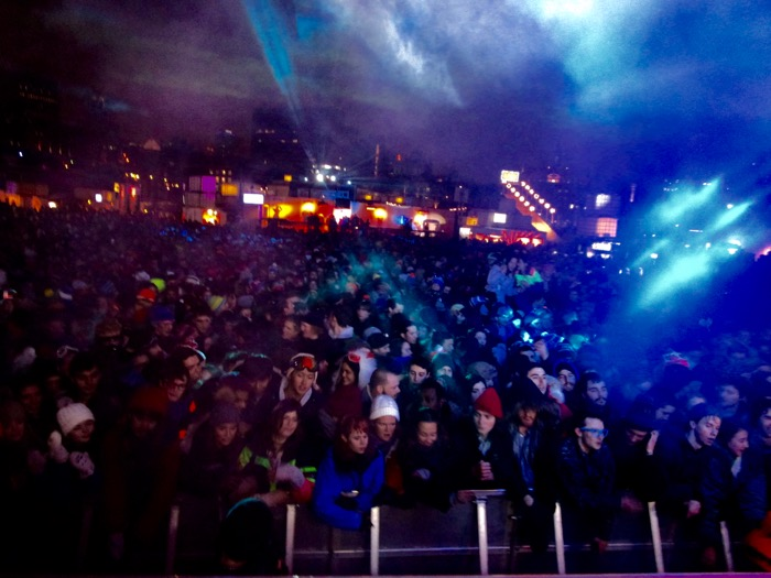 Igloofest 2016. Photo Rachel Levine