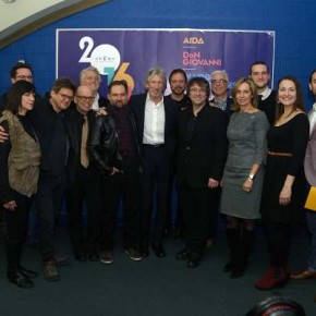 Team at Opéra de Montréal Press Conference for Another Brick in the Wall The Opera. Photo Marlene Wilson.