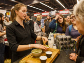 Camilla Sinensis. Matcha Making. Tea. Expo Sante et Manger. Photo Lily Huynh