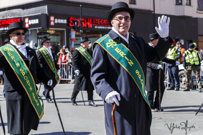 St. Patrick's Day Parade. St. Catherine Street. 2016. Photo Lily Huynh.