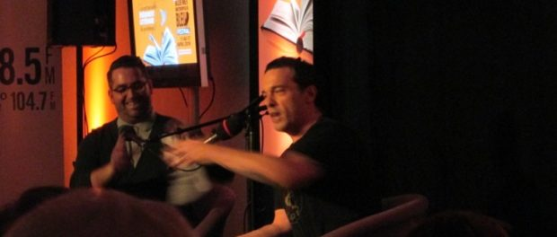 JOseph Boyden at BLue Metropolis. Photo Rachel Levine