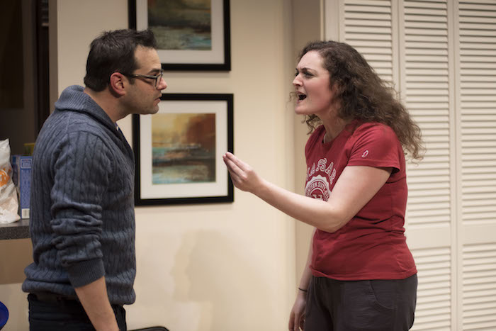 Jamie Elman, Sarah Segal-Lazar. BAD JEWS. Photo by Andrée Lanthier