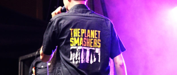 The Planet Smashers. Pouzza Fest. Photo Jack Cosmo Orzari