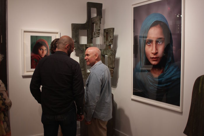 Steve McCurry. Galerie Got Montreal. Photo Jean Marc M'Bahia