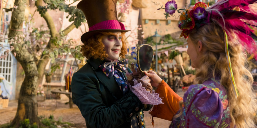 Alice Through the Looking Glass.