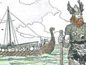 Illustration de l'exploration viking © The Picture Gallery of Canadian History, Volume 1, C.W. Jefferys
