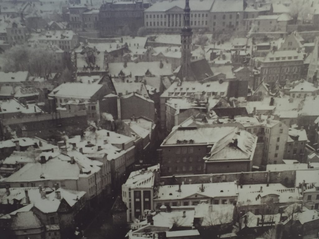 Old Picture of Tallinn