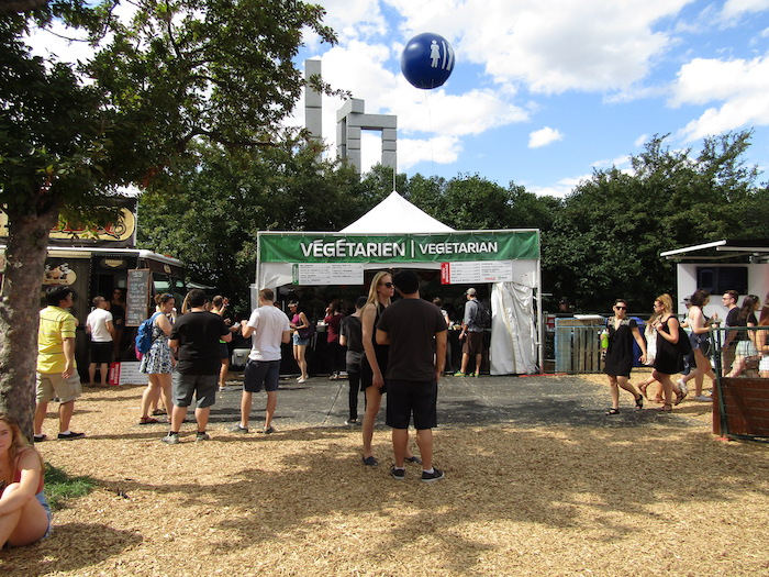 Vegetarian Food. Osheaga. Photo Rachel Levine