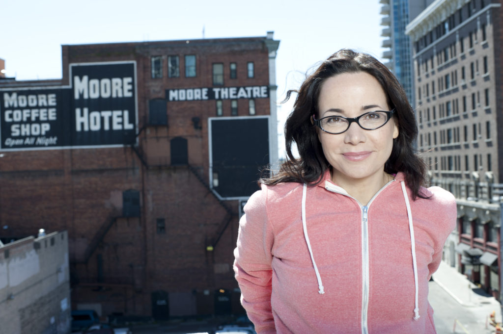 Janeane Garofalo. Photo credit: JFL.