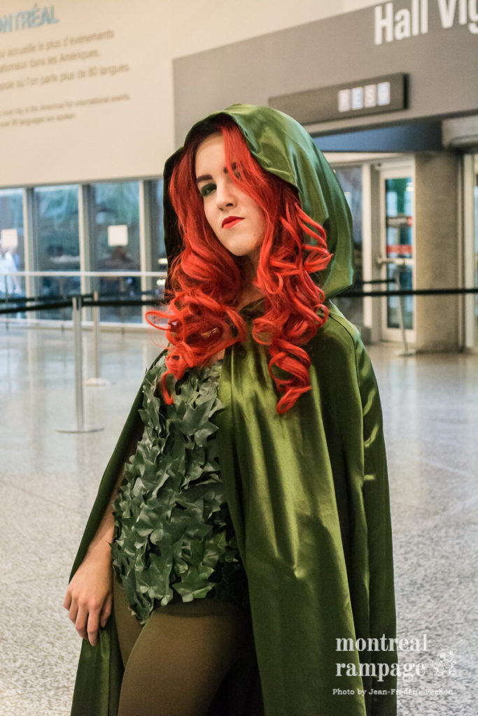 Cosplayer (photo by Jean-Frédéric Vachon)