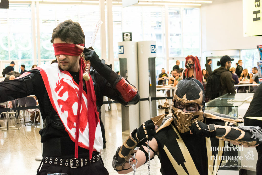 Cosplayers (photo by Jean-Frédéric Vachon)