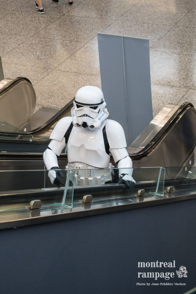 I wonder if there were escalators on the Death Star... (photo by Jean-Frédéric Vachon)