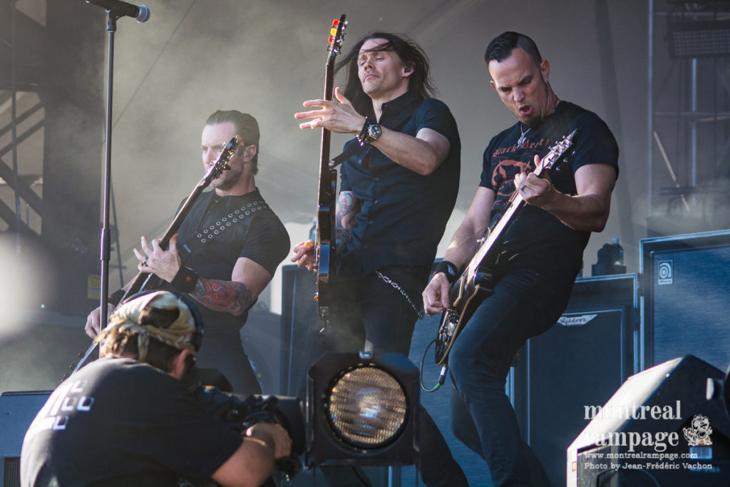 Alter Bridge (Photo by Jean-Frederic Vachon)
