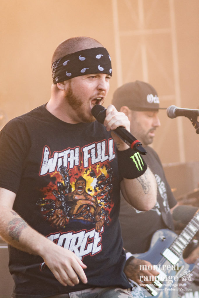 Hatebreed (Photo by Jean-Frederic Vachon)