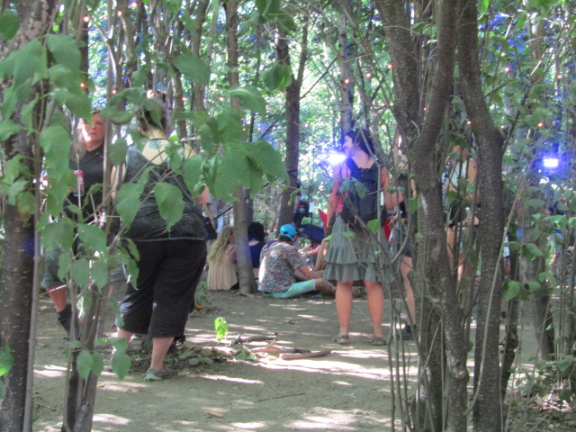 Chillout zone. Osheaga. Photo Rachel Levine