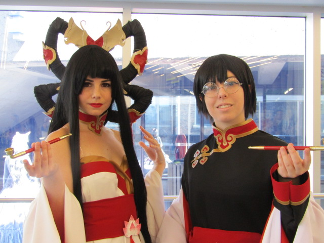 Cosplayers. Otakuthon. Photo Rachel Levine