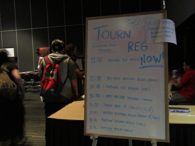Game Room. Otakuthon. Photo Rachel Levine