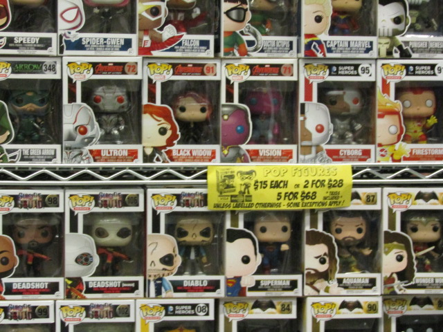 Pop Figures. Otakuthon. Photo Rachel Levine