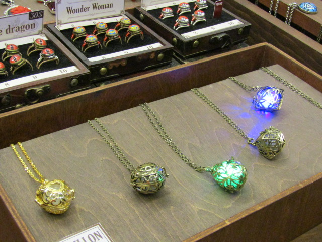 Pendants. Otakuthon. Photo Rachel Levine