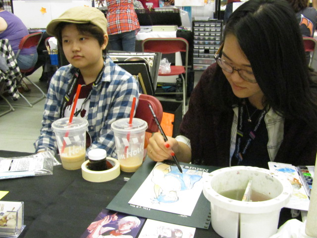 Art for Sale. Otakuthon. Photo Rachel Levine