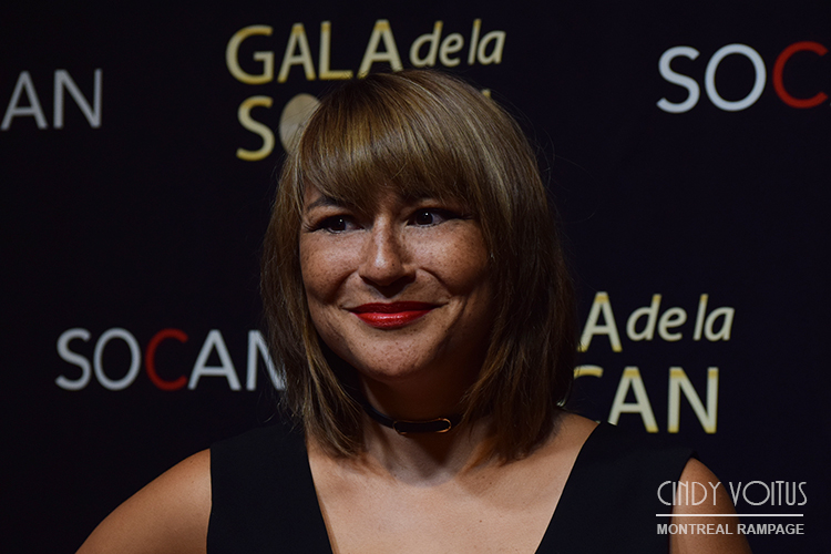 Elisapie Isaac. SOCAN gala. Photo Cindy Voitus.