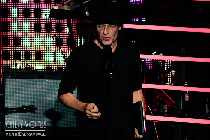 Jean Leloup. SOCAN gala. Photo Cindy Voitus.