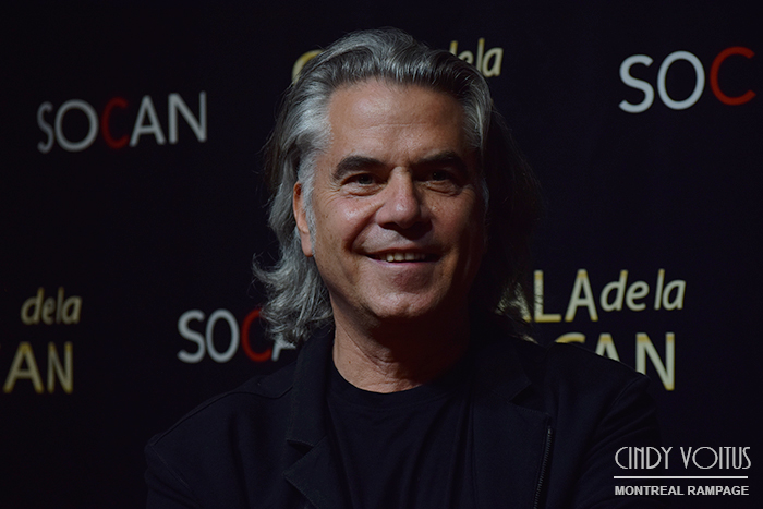 Richard Seguin. SOCAN gala. Photo Cindy Voitus.