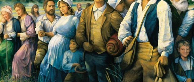 The Arrival of the Acadians in Louisiana
