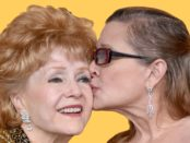 Carrie Fisher and Debbie Reynolds.