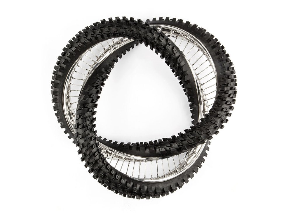twisted-tyres. Wim Delvoye