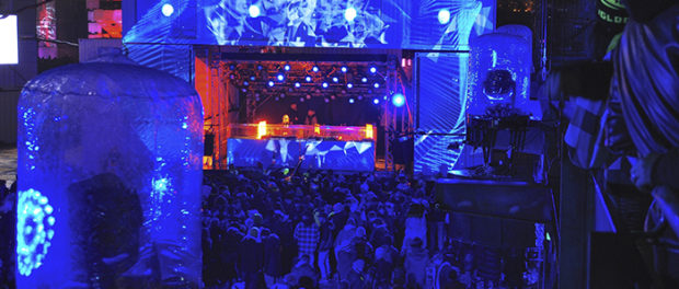 Igloofest. Photo Sebastian Mora.