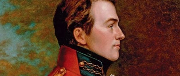 Posthumous portrait of Sir Isaac Brock by George Theodore Berthon. Credit: Provincial Archives of Ontario.
