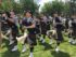 Bagpipers. Montreal Highland Games. PHoto Rachel Levine