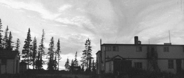 Fort George, an Anglican residential school in Quebec, c. 1948. Photo credit: Library and Archives Canada/MIKAN no: 3321513