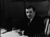 Maurice Duplessis, c. 1938. Photo courtesy of the Bibliothèques et Archives nationales du Québec (P560,S2,D1,P1827-1)