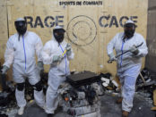 Rage Cage. Sports de Combats. Photo Angelique Koumouzelis