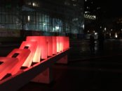 Domino Effect. Luminotherapie. 9th edition. Quartier des Spectacles. Place des Arts. Photo Rachel Levine