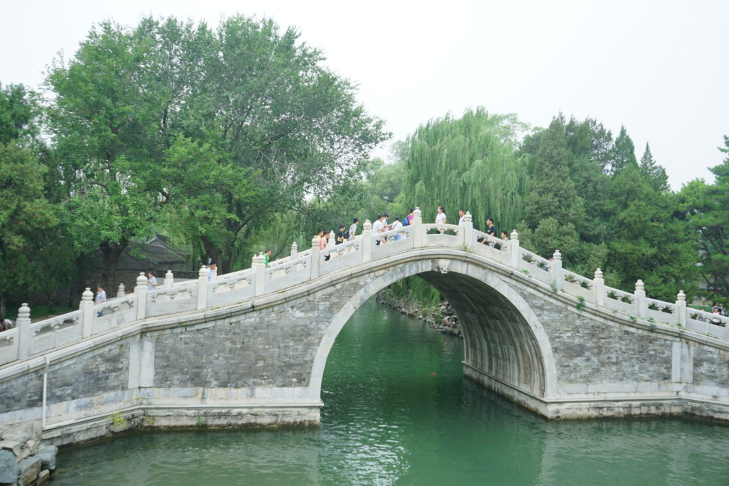 17 Arch Bridge. Beijing. Summer Palace. 2019 Photo Philippe Canning.