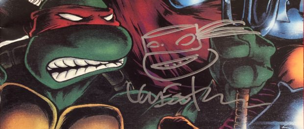 Teenage Mutant Ninja Turtles co-creator Kevin Eastman signed at Montreal Comicon (Photo by Jean-Frédéric Vachon)