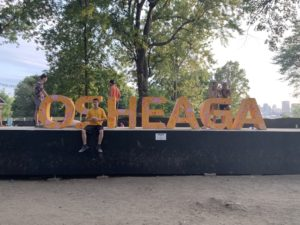Osheaga Sign. Photo Rachel Levine