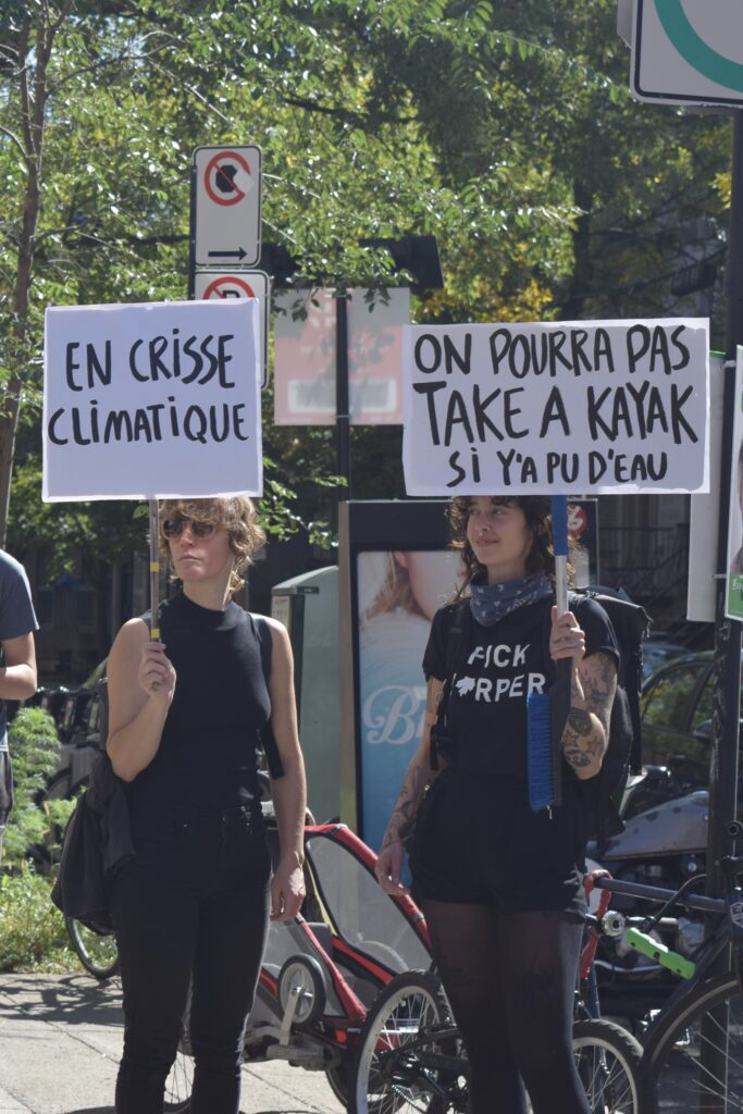 Climate Strike March. Photo Angelique Koumouzelis.