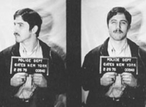Much shot of Hillside Strangler Kenneth Bianchi, who Vonda Pelto dealt with at Los Angeles Men's Central Jail.