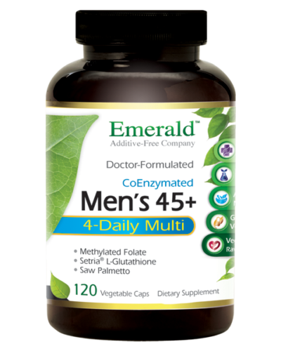 Emerald Men 45+ 4-Daily Multi (120) Bottle